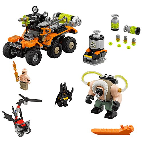 LEGO BATMAN MOVIE Bane Toxic Truck Attack 70914 Building (Double Action Trucks)