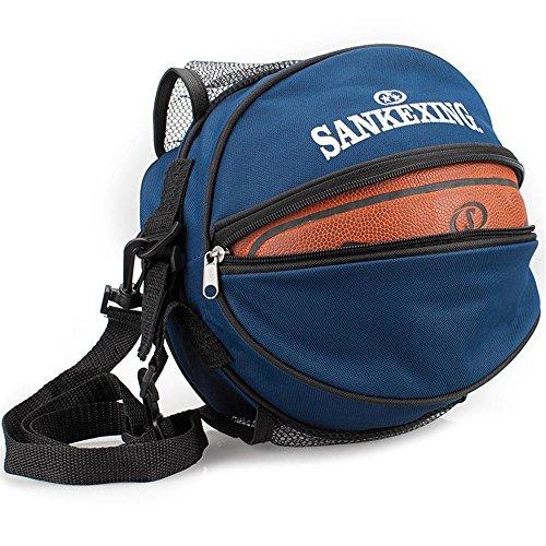 ALUK- Bundle de lazo del bolso de hombro hombres y las mujeres del baloncesto ocasional Maleta de Mano ( Color : Azul cielo ) Azul oscuro