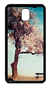 Samsung Galaxy Note 3 N9000 Cases & Covers - Sad Lonely Tree TPU Custom Soft Case Cover Protector for Samsung Galaxy Note 3 N9000 - Black