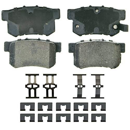 Wagner QuickStop ZD537 Ceramic Disc Pad Set, - 1991 Accord Brake Pads