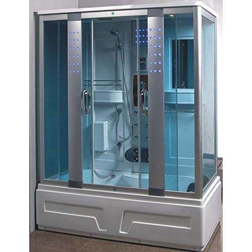 80%OFF Full size Rectangular Shower Room L80S07 (Heavy Duty)