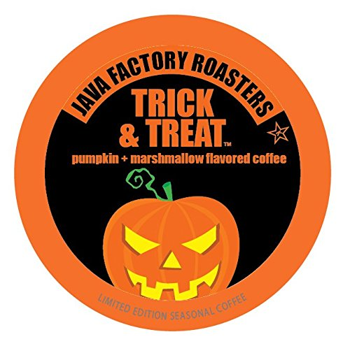 Java Factory Fall Seasonal, Single Cup Coffee, Trick and Treat, 40 Count