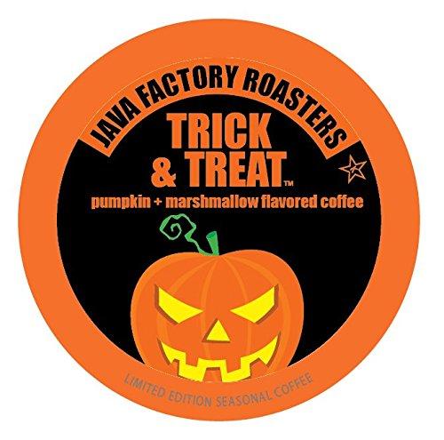 Java Factory Fall Seasonal Single Cup Coffee, Trick and Treat, 24 Count (Fall Treats)