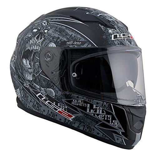 LS2 Helmets Motorcycles & Powersports Helmet's Full Face Stream (Matte Anti-Hero 2.0, ()