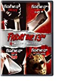 Friday the 13th (4-Movie Collection) [Friday the 13th Uncut / Friday the 13th Part 2 / Friday the 13th Part 3 / Friday the 13th Final Chapter]