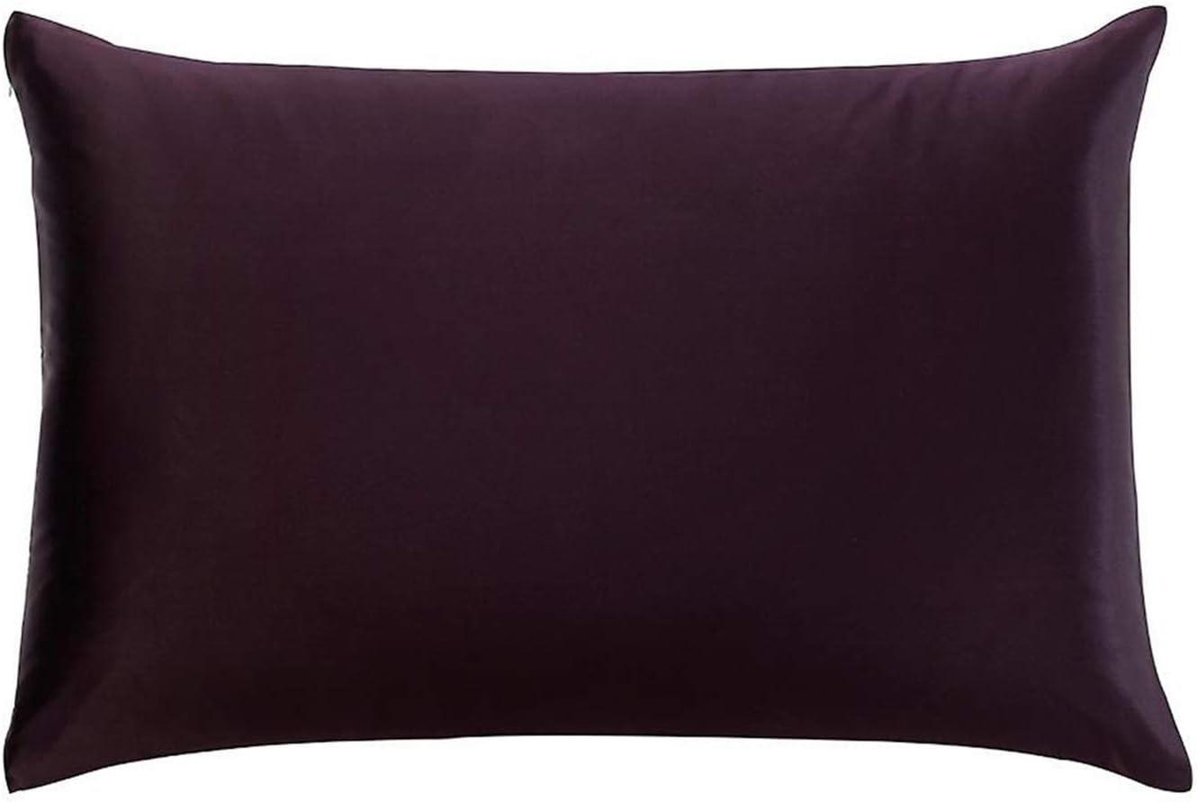 1 PCS 100% Puro Pure PIENDA DE SILDOTE 25 Momme ZEXPER CASA DE ALQUILLA DE LA METRA DE LA METRAS 40X70 CM (Color : Purple, Size : 50x90cm)