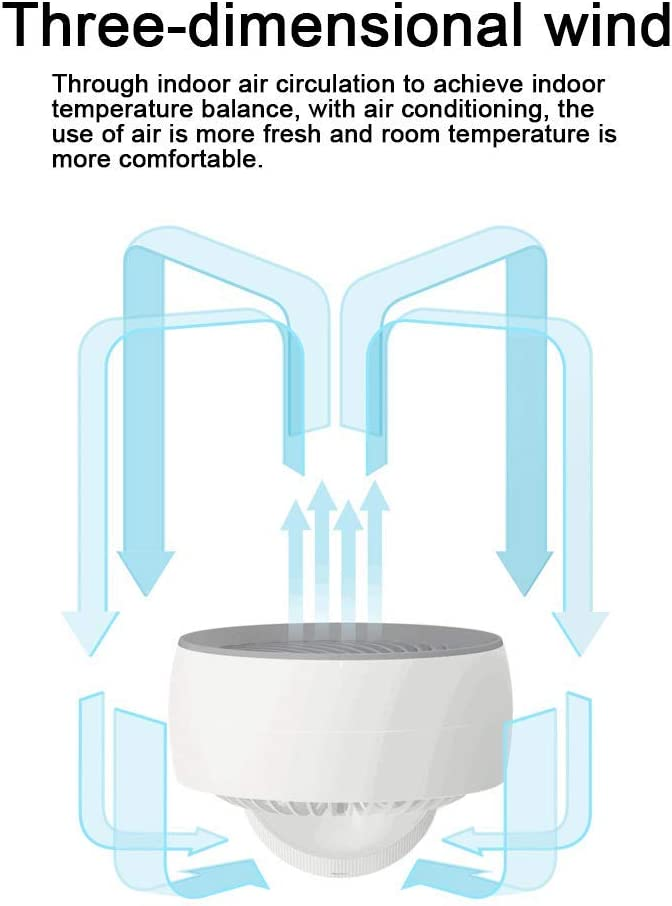 Speeds Adjustable Mini Desktop Fan Portable Mini USB Rechargeable Cooling Fan with for Office Home and Travel MEETGG Mini Portable USB Fan
