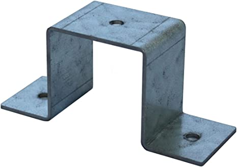 Abrazadera cuadrada para tubo cuadrado, 60 x 60 mm