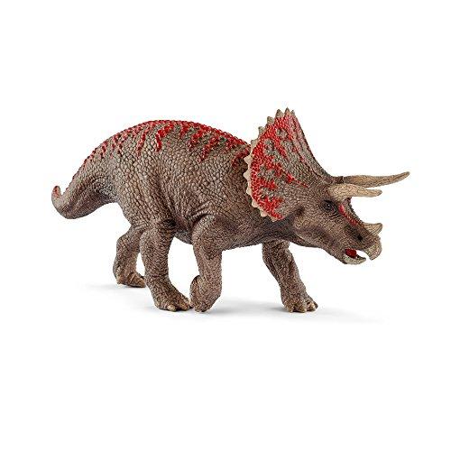 Schleich Triceratops Toy Figurine, Gray, Standard