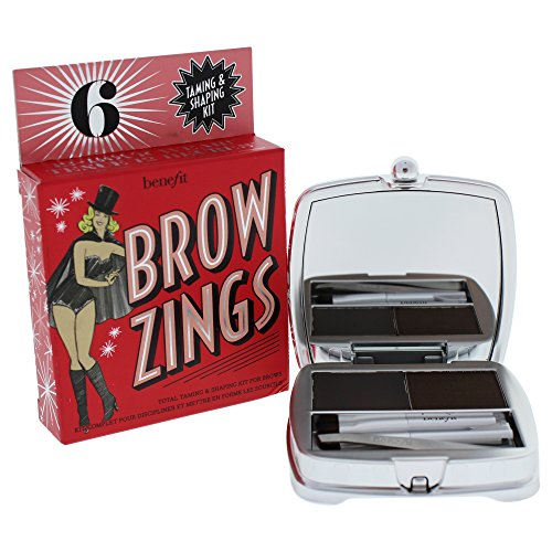 Benefit Brow Zings (Total Taming And Shaping Kit For Brows), 6 (Deep), 0.15 Ounce