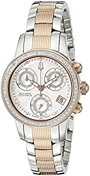 Bulova Women's 65R149 Masella Analog 2-Tone Watch