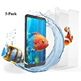 LG G6 Screen Protector, Hotbin [3-Pack] Ballistic Tempered Glass, Premium Screen Protection for LG G6