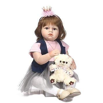 HOOMAI New Exquisito 28 Pulgadas 70 cm bebé Reborn ... - Amazon.es