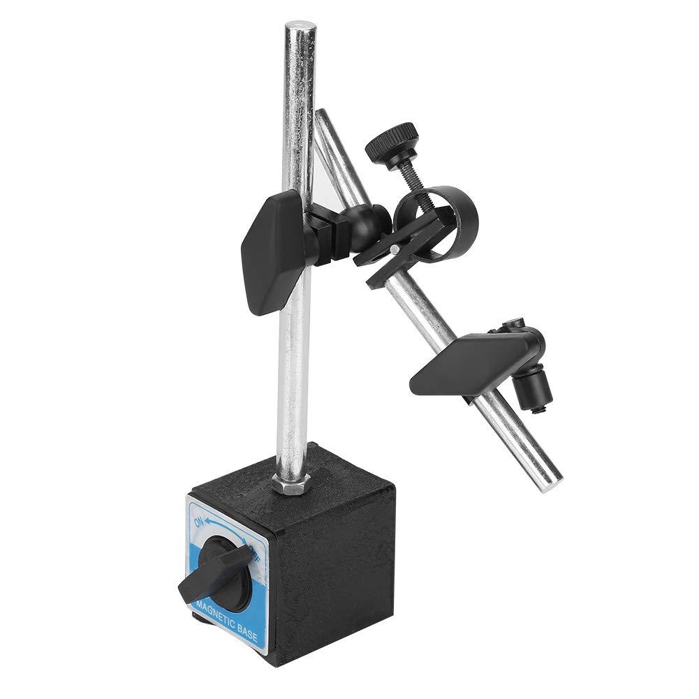 Flexible Strong Magnetic BaseHolder, Magnetic Gauge Stand Base Holder AdjustableMagneticBaseHolder for Dial Test Indicator Gauge