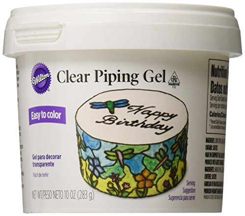 Wilton 704-9987 Clear Piping - Cake Glaze