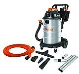 Truper ASPI-16X, Aspiradora Industrial de acero inoxidable, líquidos y sólidos, 16 galones