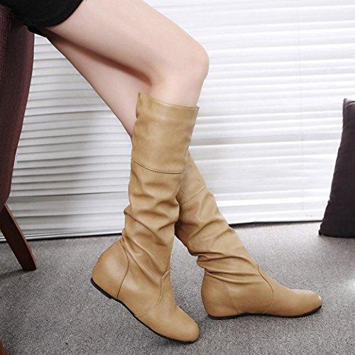 stringate Scarpe Women Khaki MML donna Boots qFfUUwt