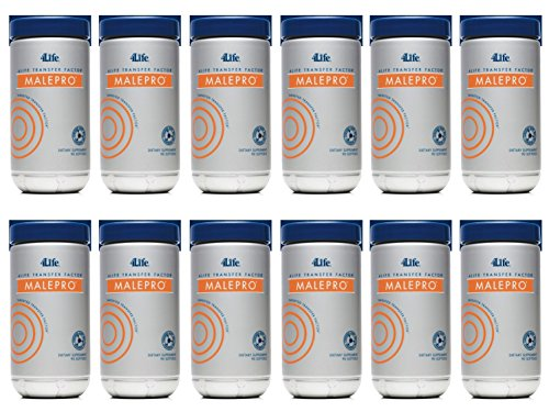 Transfer Factor MalePro (Pack of 12) by 4Life – 90 Soft Gels For Sale
