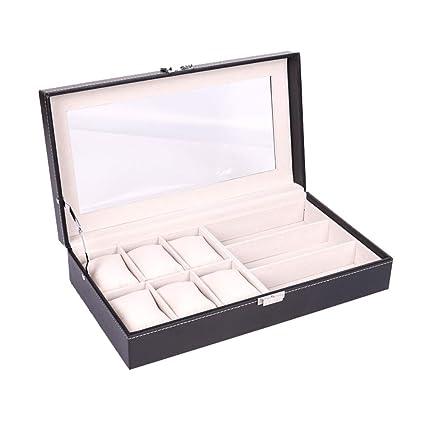 Amazon.com: AMhuui - Organizador de relojes, gafas de sol ...