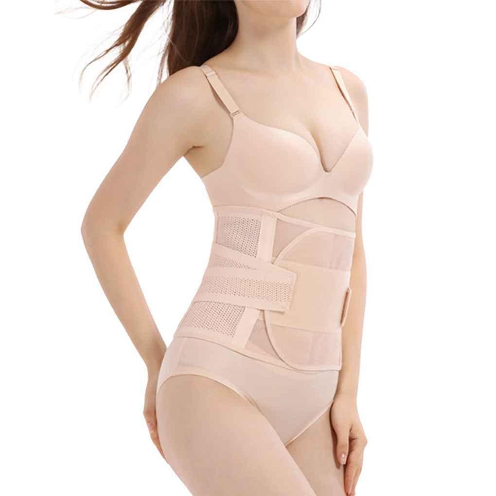 Republe Los cinturones de apoyo de verano Thin Prevenir Dolor de espalda faja postparto de las mujeres embarazadas del abdomen de la correa de la correa Bellyband tonificación Back