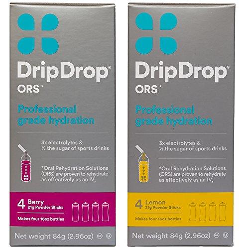 DripDrop Gluten Hydration Powder Variety