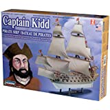 Lindberg 1/130 scale Captain Kidd Pirate Ship