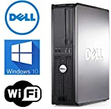 Dell Optiplex 780 Desktop SFF- Intel Core 2 Duo 3.0GHz, 250GB HDD, 4GB DDR3, Windows 7 Professional 64-bit, WiFi, REFURBISHED