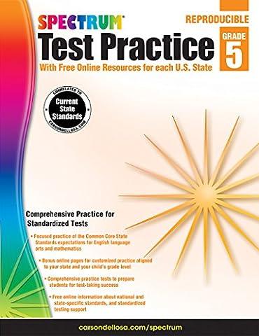 Spectrum Test Practice, Grade 5 (Spectrum Grade 5 Test Prep)