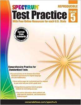 `TXT` Spectrum Test Practice, Grade 5. company McElwain estan market Years