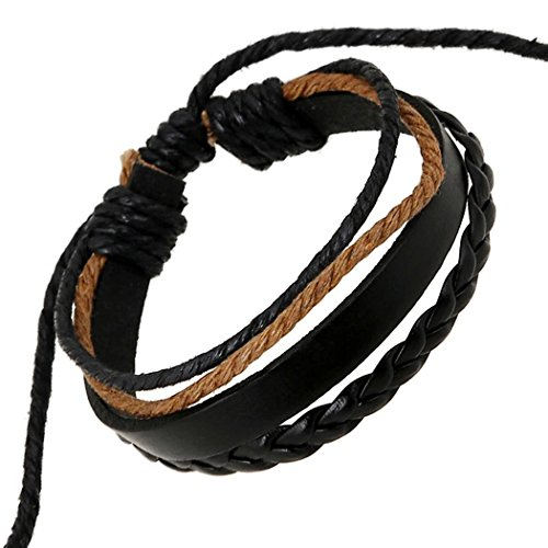 victoria-echo-handmade-black-multilayer-corded-braided-leather-wrap-bracelet