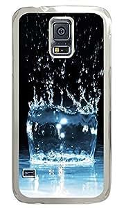 Samsung Galaxy S5 Water Drop 08 PC Custom Samsung Galaxy S5 Case Cover Transparent