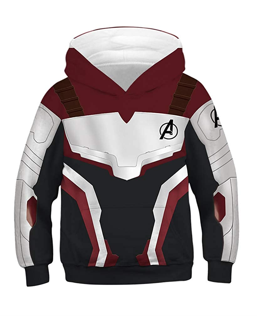 464849d90605 AMOMA Boys Girls Kids Sweatshirt 3D Printed Hoodies Galaxy Anime Hooded  Pullover with Pockets  Amazon.co.uk  Clothing