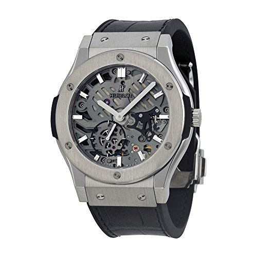 Hublot Classic Fusion Automatic Skeleton Dial Mens Watch 545.NX.0170.LR