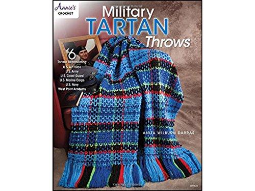 Annies Military Tartan Throws Bk