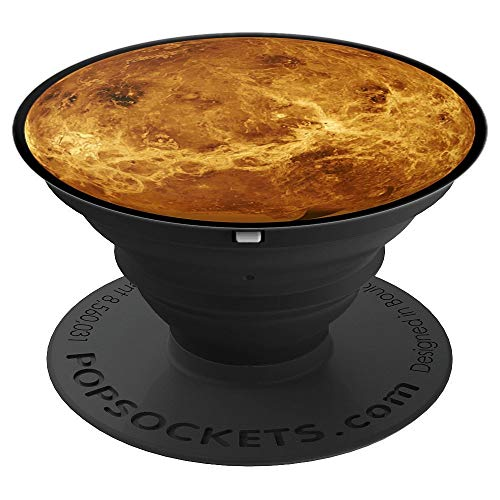Venus Planet Roman Goddess Telescope Radar View - PopSockets Grip and Stand for Phones and Tablets]()
