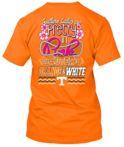 NCAA Pretty in Pink Short Sleeve T-shirts (Tennessee Volunteers, - Tennessee Pack Tee Volunteers