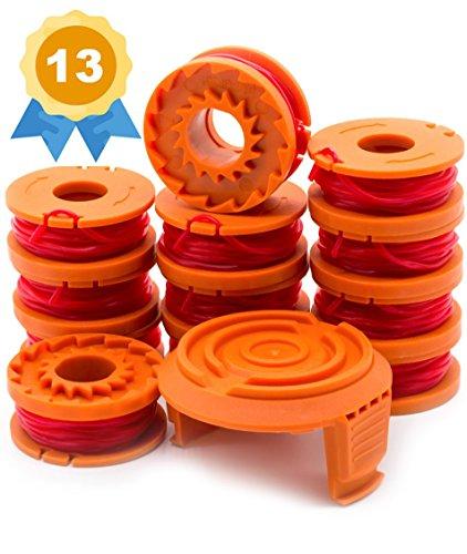 Garden Ninja Replacement Trimmer/Edger Spool for WA0010, 12-Spool with 1 Cap by Garden Ninja