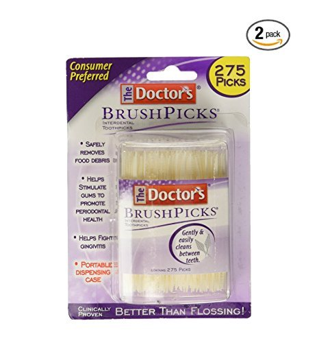 Doctor's Brushpicks, 275 Count (Pack of 2)