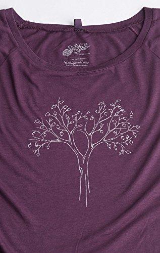 Reduced shir Cotone Biologico Life T Bambù Fairtrade tree Donna E x4wYqPCI