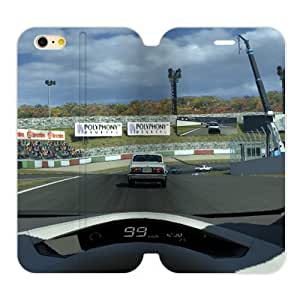 Racing Racer Final Sprint Win Iphone 6 Plus 5.5 Case Shell Cover (Laser Technology) by icecream design