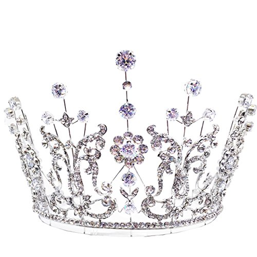 Loveney Rhinestone Tiara by Kate Marie by Kate Marie