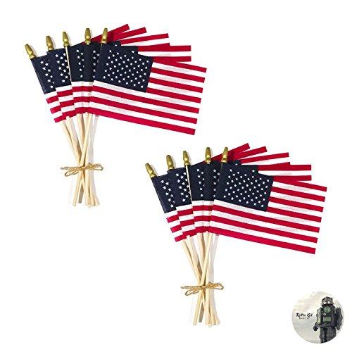 Retro Kid Labor Day Flag Decorations  Premium Heavy Cotton -