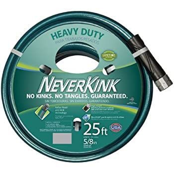 NeverKink 8615-25 Series 2000 Ultra Flexible Garden Hose, 5/8-Inch by 25-Feet