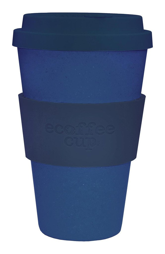 Ecoffee Cup Blue/ Blue Silicon