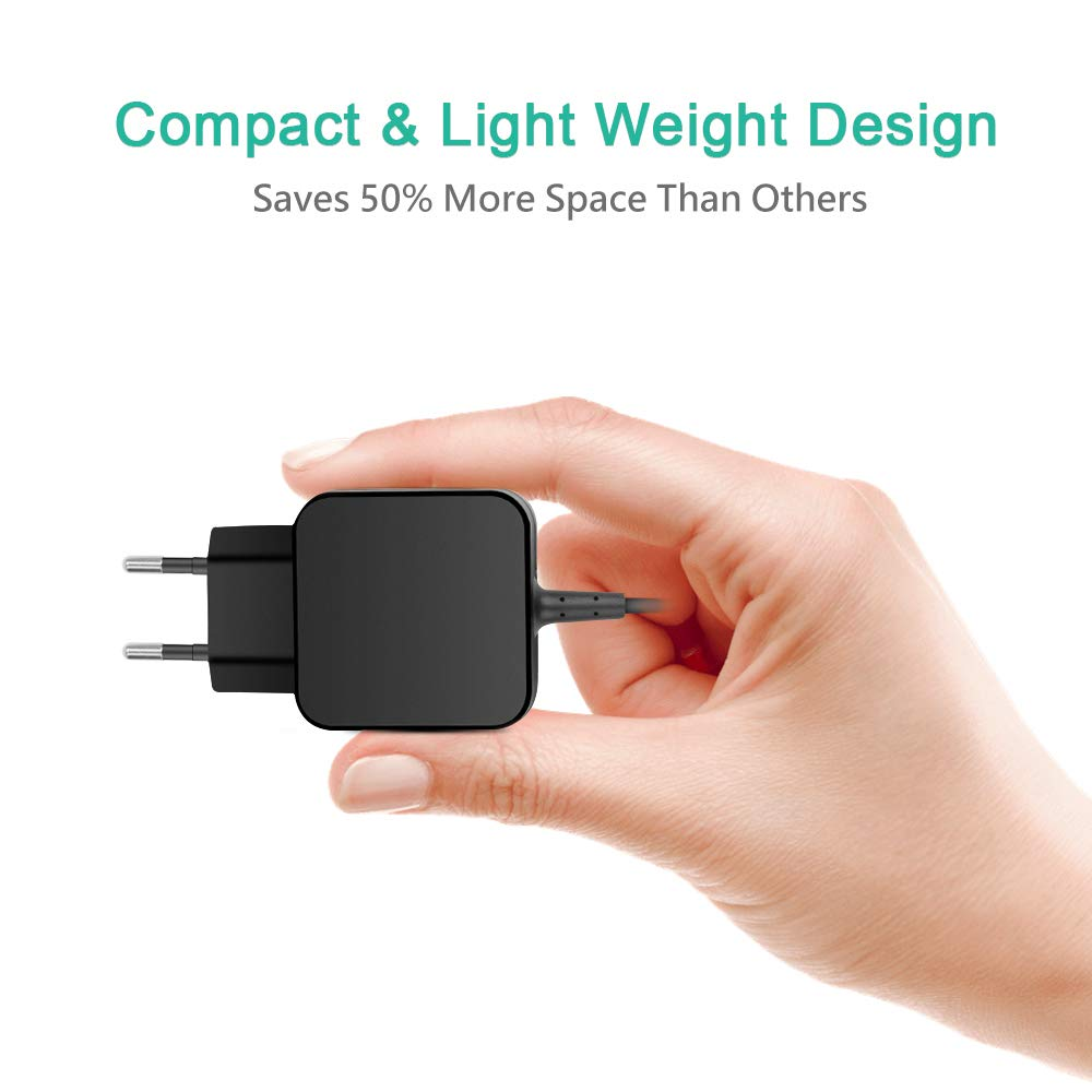 HKY TUV Certifi/é 15V 1,2A Chargeur Alimentation Adaptateur pour ASUS Eee Pad Transformer Vivo RT Tab TF600 TF600T TF600TG TF600TL TF701T TF810 TF810C Tablette