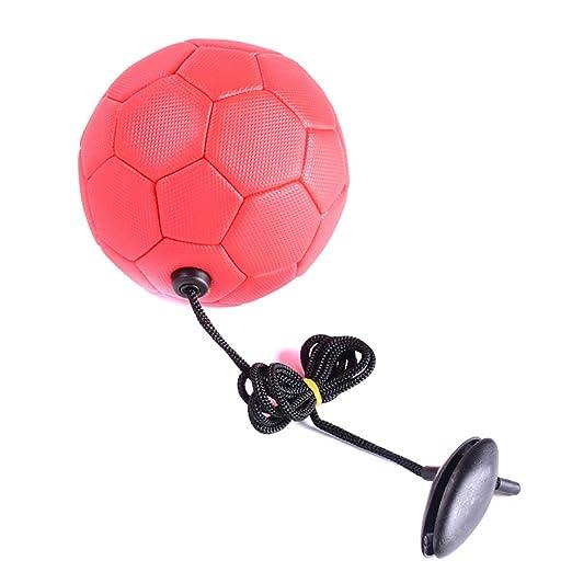 CerisiaAnn - Balón de fútbol con Cuerda, Entrenamiento de Mejora ...