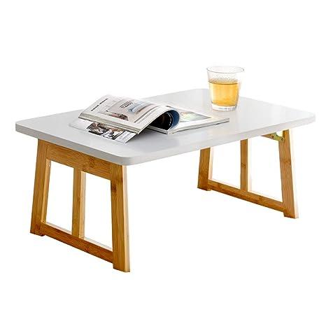 Ordenador portátil de la mesa de bambú de la tabla del ordenador ...