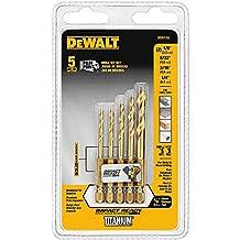 DEWALT DD5155 Impact Ready 5 Piece Titanium Drill Bit Set