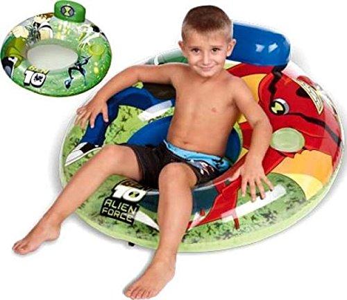 Hinchable Playa Piscina Ben 10 sillón ciambellone Confort 104 x ...