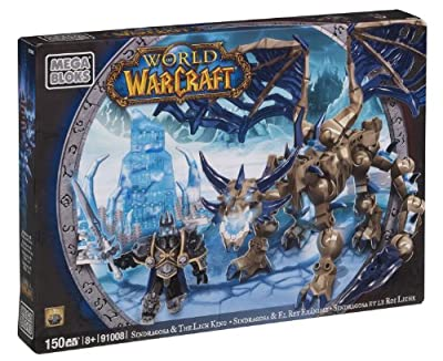Mega Bloks® World of Warcraft®, Sindragosa and The Lich King - Item #91008